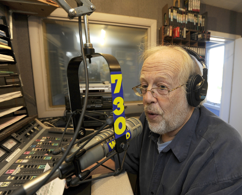 Bob Bittner goes on the air when he wants to, often to announce a song request that he'll play live between songs on a programmed playlist, to announce his stations' call letters or to give the weather report, with an occasional political observation.