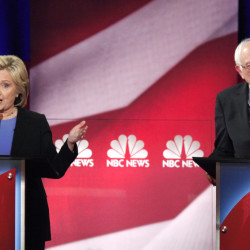 Hillary Clinton once seemed to have her party's nomination in her hands, but Sen. Bernie Sanders can point to growing support in the crucial early states. They'll debate Thursday night in Durham, New Hampshire.