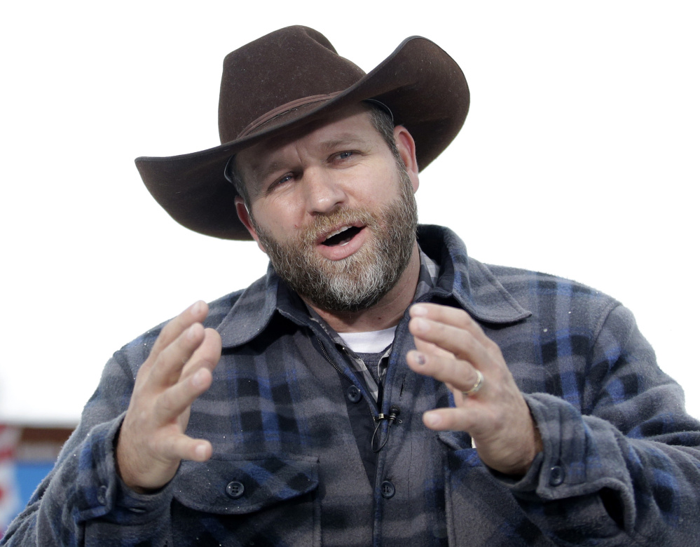 Ammon Bundy, leader of an armed group that occupied Malheur National Wildlife Refuge, near Burns, Ore., will be arraigned Feb. 24.