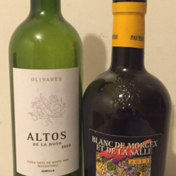The Olivares Altos de la Hoya 2013 ($12) is full of ripe spiciness while the Ermes Pavese Blanc de Morgex et de la Salle 2013 ($29) is made from the prié blanc grape native to the Valle d'Aosta, a French-leaning district in Italy's extreme northwest.