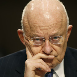 National Intelligence Director James Clapper sees a world in constant peril.
