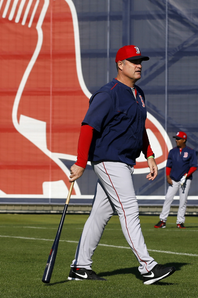 John Farrell is back managing the Red Sox after recovering from cancer, knowing the team needs a good start this season.