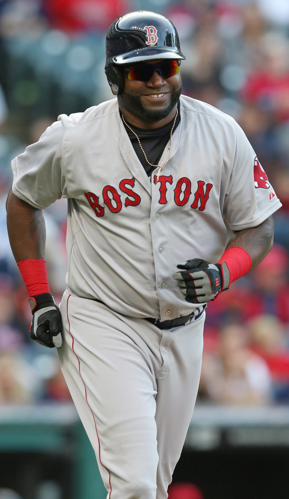 David Ortiz of the Boston Red Sox hopes to remain with the team in some capacity when his playing days are finished following this season.Until then, hit away.