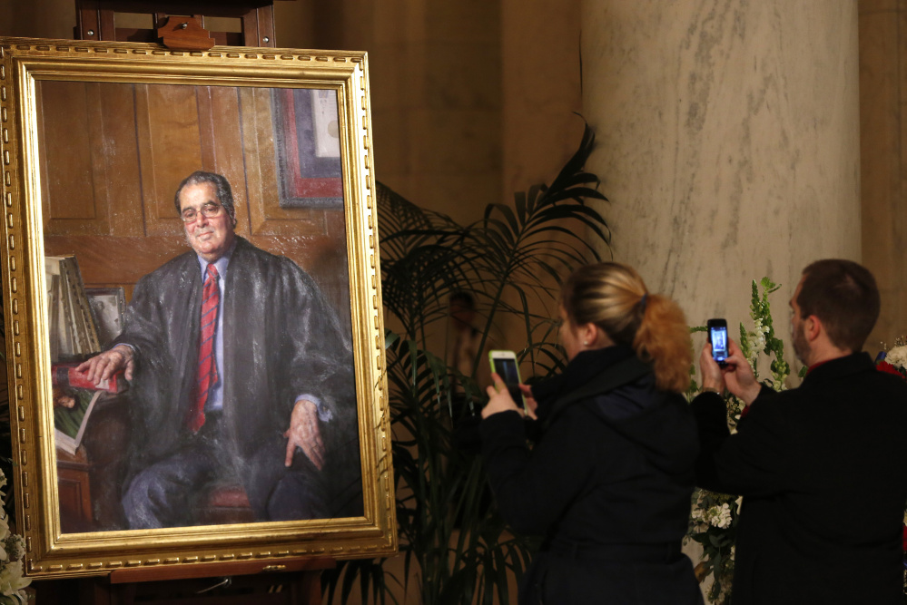 Justice Antonin Scalia wore the traditional black robe in court, but if he did belong to the International Order of St. Hubertus, he might have donned a green robe with a Latin motto.