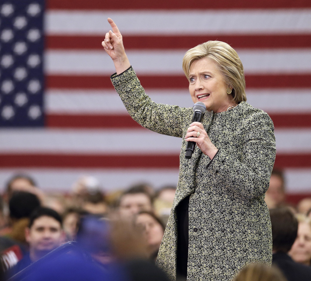 Hillary Clinton enjoys the support of many big-name Democrats in Maine, but Bernie Sanders has plenty of fans too, drawing 7,500 people to a Portland arena last July to hear him speak.