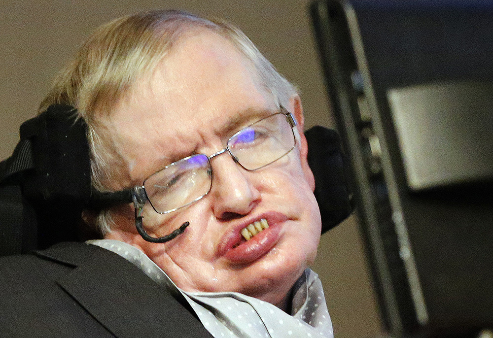 """Stephen Hawking: We are not going to stop making progress, or reverse it, so we have to recognize the dangers and control them."""" The Associated Press"""