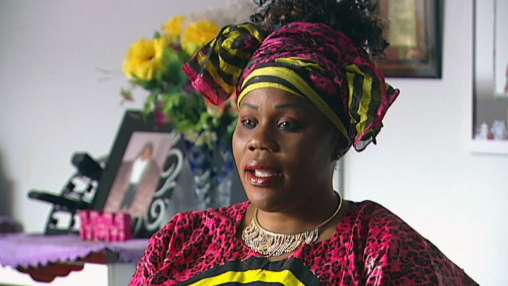 "Noela Rukundo: ""My situation, my past life? That is gone. I'm starting a new life now."" Image provided  by the Australian Broadcasting Corp."