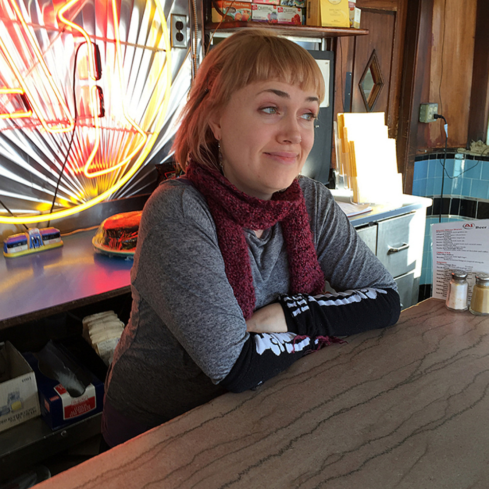 A1 Diner employee Jessica Barker has been a waitress at the Gardiner eatery for about 10 years, but she is considering other options to ensure a more secure financial future.