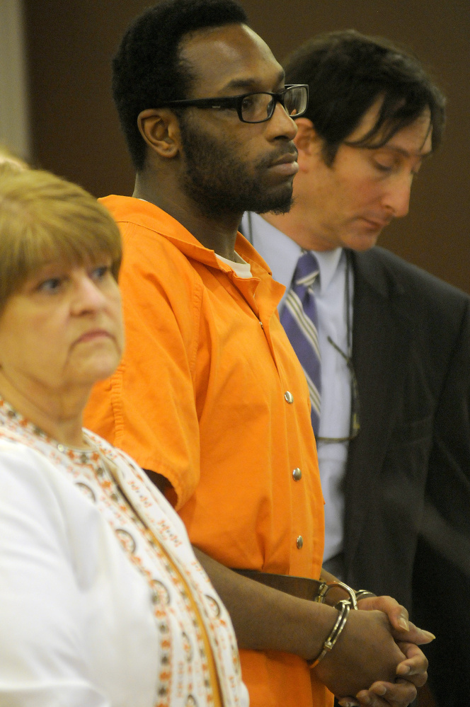 David W. Marble Jr. pleaded not guilty Tuesday to two counts of murder during a court appearance at the Capital Judicial Center. He was represented by his attorneys Pamela Ames and David Geller.