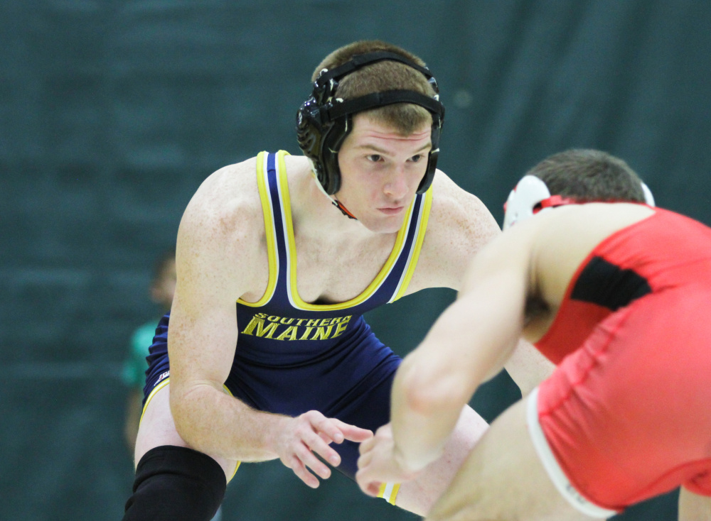 University of Southern Maine junior Dan Del Gallo has enjoyed another standout season on the mats this season. The Gardiner Area High School graduate qualified for the Divison III national championships for a secons straight season. Del gallo will wrestle in the 149-pound division.