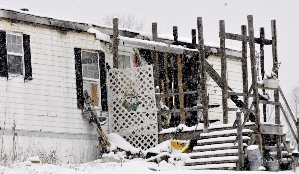 A fire that destroyed a mobile home at 431 Trafton Road in Oakland Saturday was arson, according to the state fire marshal's office.