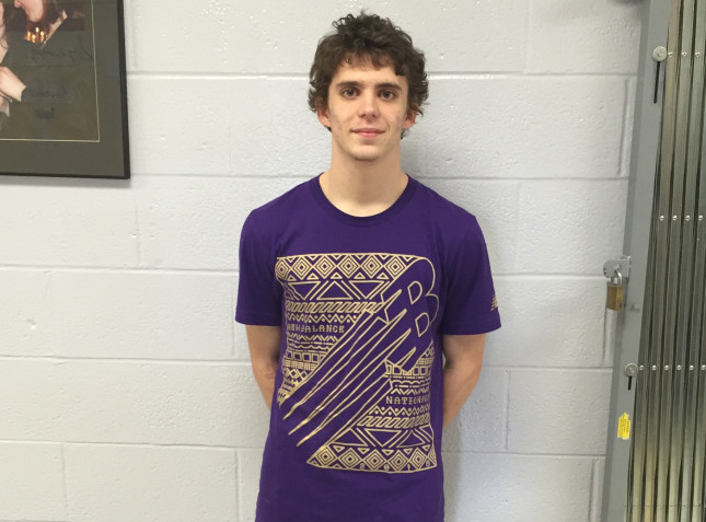 Waterville senior Billy Chambers recently earned All-American status in the race walk after he finished fifth in the event at the New Balance Indoor National Track and Field Championships in New York City.