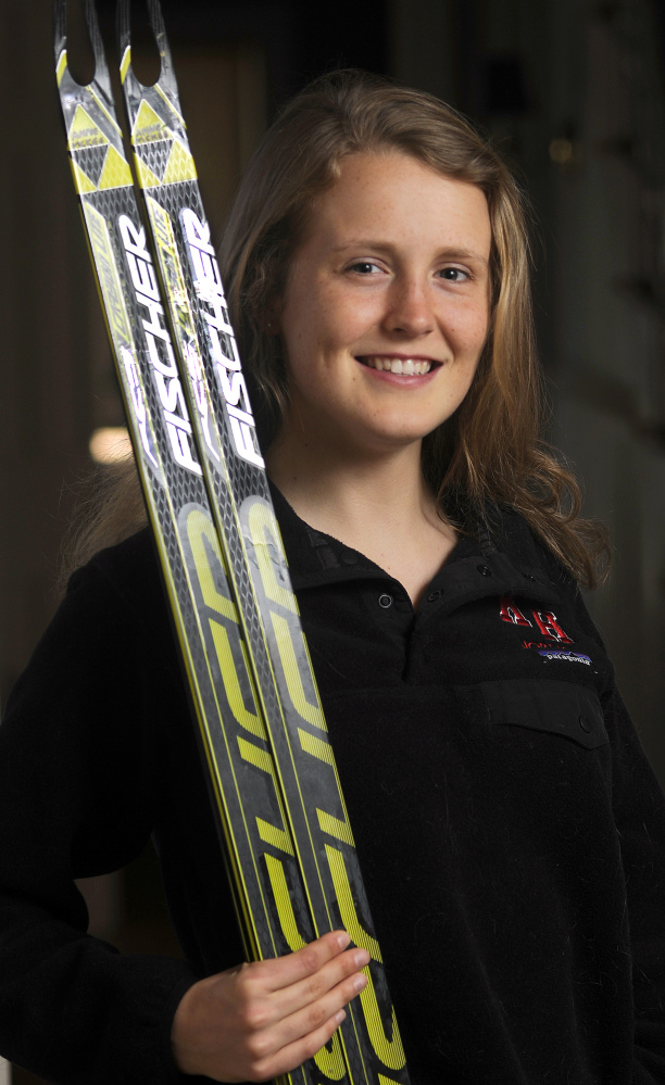 Kents Hill School's Anne McKee is the Kennebec Journal Girls Nordic Skier of the Year.