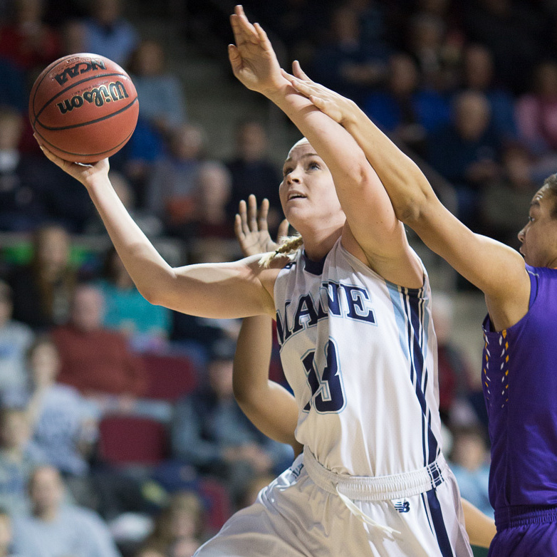 Slumping as a freshman on a struggling team, Mikaela Gustafsson of Sweden was questioning her place in Maine. Now a senior, she's a key player for the 24-7 Black Bears.