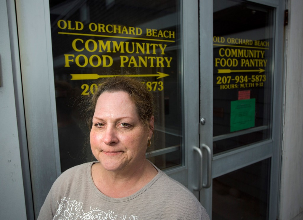 Mary Germain is the manager of the Old Orchard Beach Community Food Pantry, which will lose about a quarter of its food because of the closure of York County Food Rescue, a nonprofit that supplied food pantries.