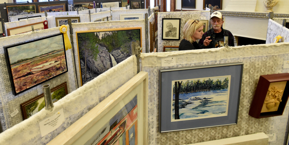 Waterville man charged in art show heist central maine for Local craft fairs near me