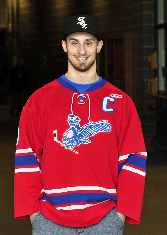 MA H.S.: Morning Sentinel Hockey Player Of The Year - Brandon Nale