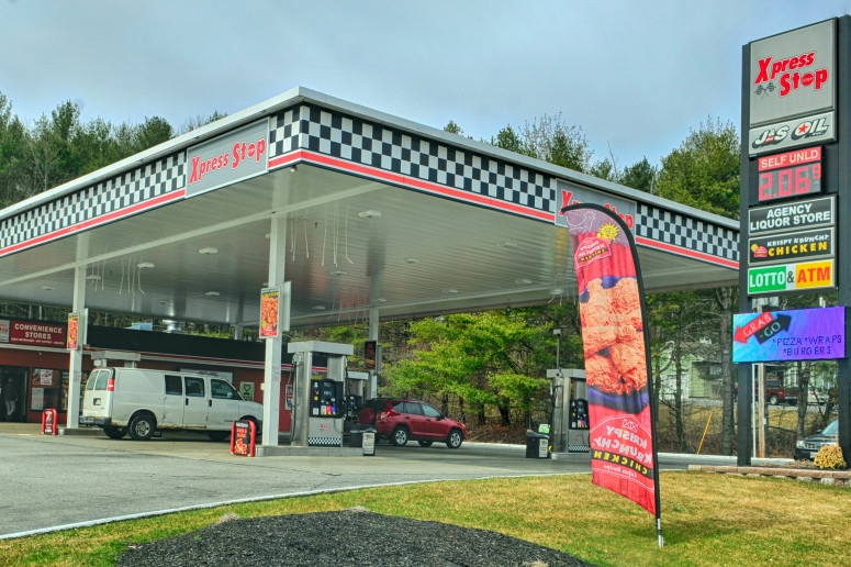 This J&S Oil Xpress Stop in Farmingdale is one of the locations that has been sold to Nouria Energy Corp., based in Worcester, Massachusetts.
