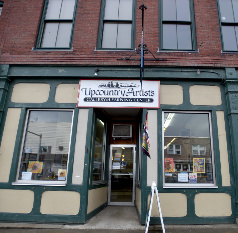 Upcountry Artists Gallery and Learning Center, seen Friday in Farmington, plans to close at the end of April.