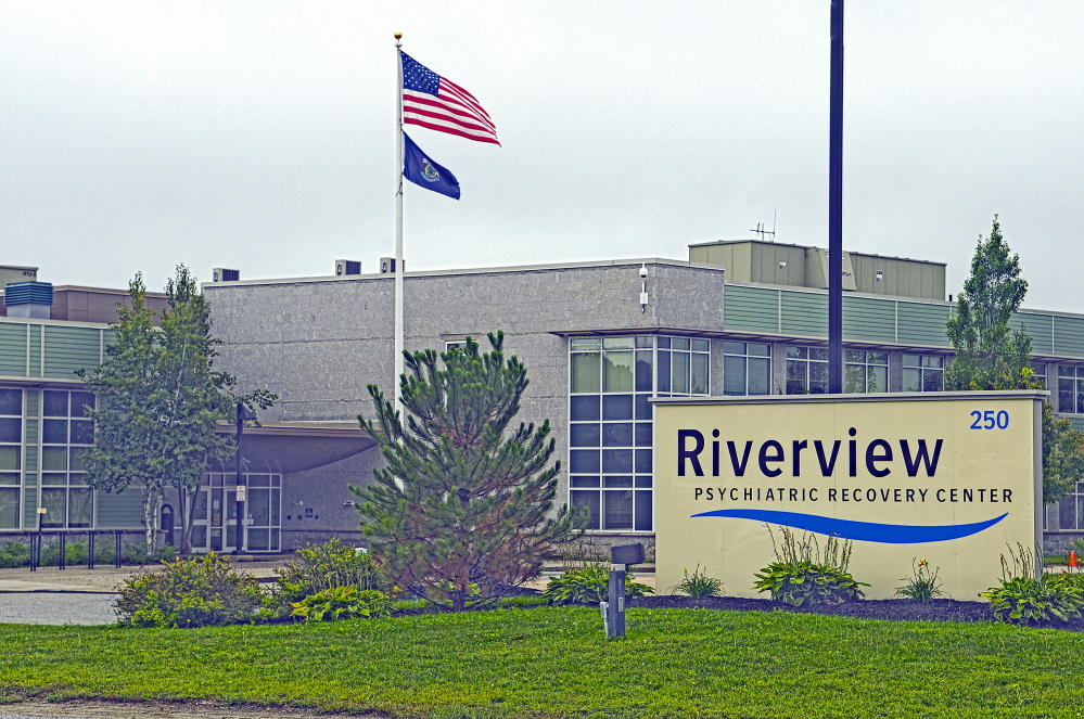 A Riverview Psychiatric Center employee alleges the hospital allowed harassment, retaliation and threatening behavior by supervisors and other staff members.