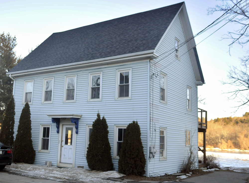 The building at 226 Water Street in Hallowell, shown on Feb. 2.