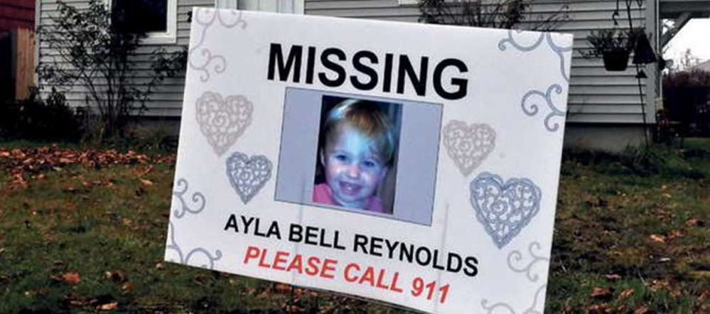 "Ayla Reynolds was 20 months old when she was reported missing Dec. 17, 2011, from her Waterville home. Convicted murderer Jason Cote spoke of the toddler during his sentencing in February, saying he hoped his case would bring out the people ""who know what happened to Ayla"" to tell the truth about her disappearance. State police have said the two cases have nothing to do with each other and Cote's words were ""ramblings."""