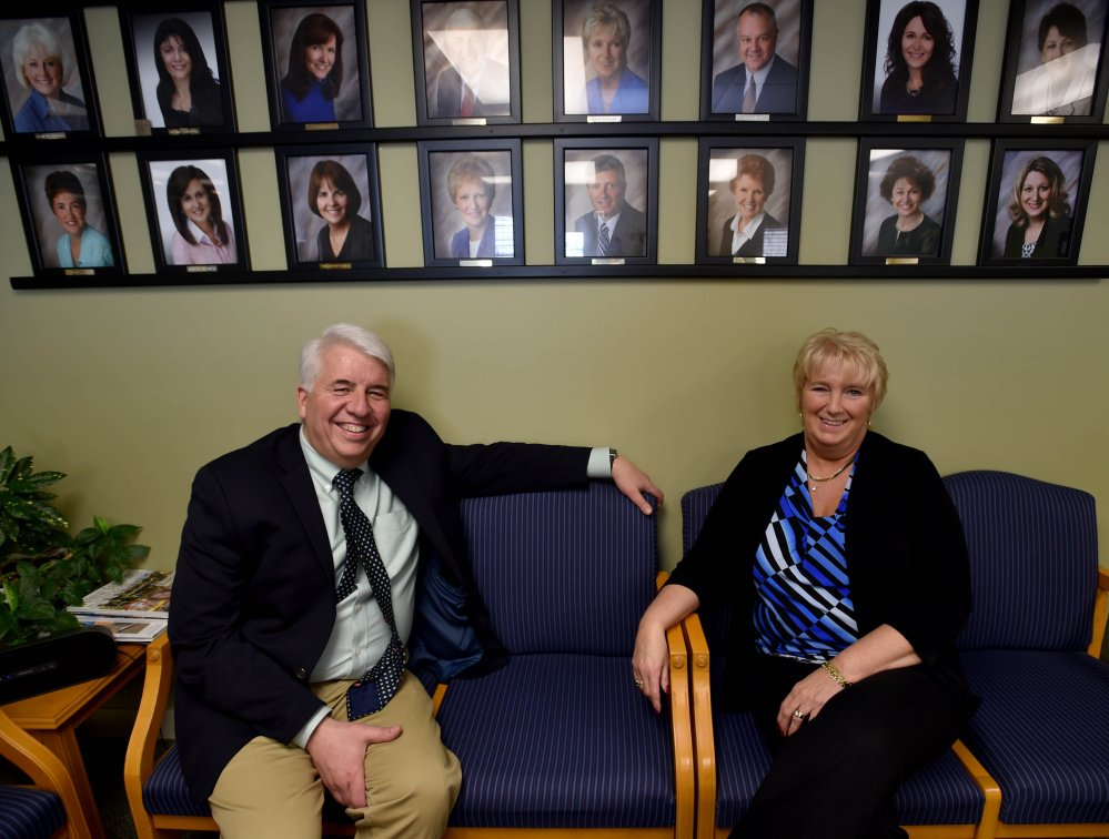 Don and Irene Plourde, owners of Caldwell Banker Plourde Real Estate in Waterville, have been named the Distinguished Community Award winners by the Mid-Maine Chamber of Commerce.