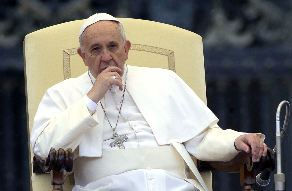 In his much-anticipated document of principle, Pope Francis seems to say that the church must deal with the world it lives in, not the world it wants. He sometimes sounds less like a pontiff than a marriage counselor.
