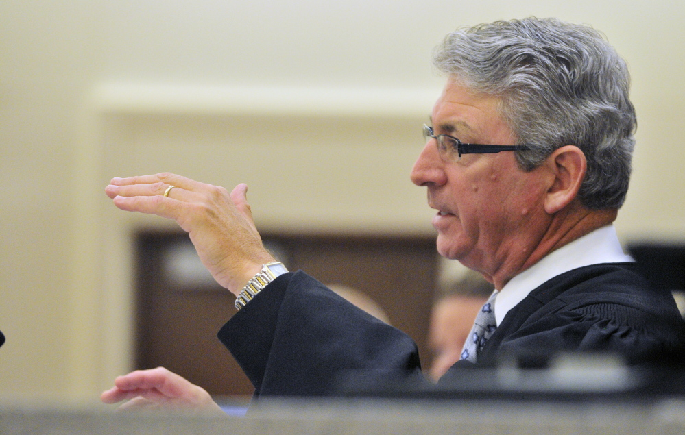 Superior Court Justice William Stokes said he does not believe that his past affiliation with Mayors Against Illegal Guns would have a bearing on any ruling in Harvey Lembo's case, but told the attorneys that they can file motions if they want him to recuse himself.