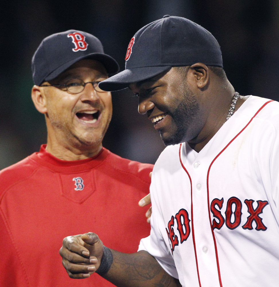 Terry Francona has his Cleveland Indians within one win of a World Series championship, but as his playoff experience with David Ortiz and the Red Sox shows, teams can bounce back from deficits.