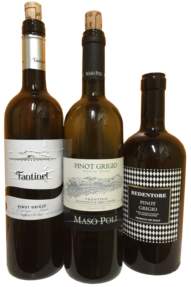 Joe Appel's favorite pinot grigio wines are identifiably Italian, salty-fruity with pretty perfume, but they borrow some of the richness and persistence of Alsatian pinot gris.