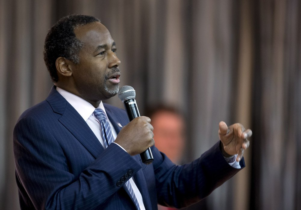 Former Republican presidential candidate Ben Carson will attend the Maine GOP convention.