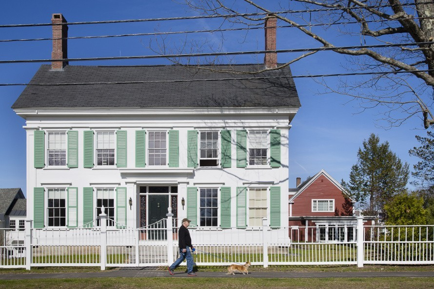 The historic Harriet Beecher Stowe House on Federal Street in Brunswick has been added to the National Underground Railroad Network to Freedom. Carl D. Walsh/Staff Photographer