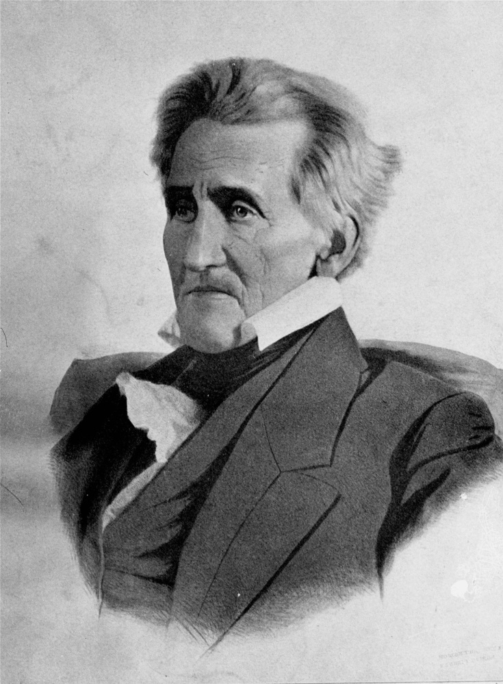 President Andrew Jackson led the nation to victory in the War of 1812. But he and his troops also forced several tribes on deadly marches and onto reservations.