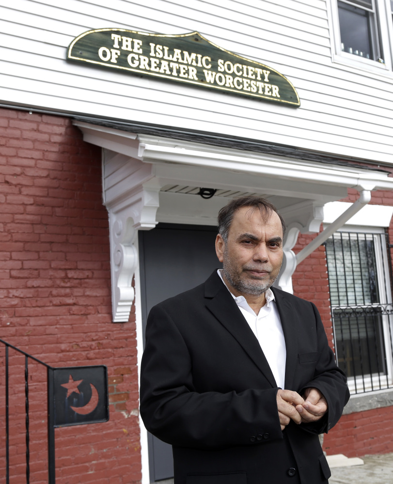Amjad Bhatti, president of the Islamic Society of Greater Worcester, and other leaders want to build a Muslim cemetery on farmland in Dudley, Mass., but residents are vigorously opposing the project.