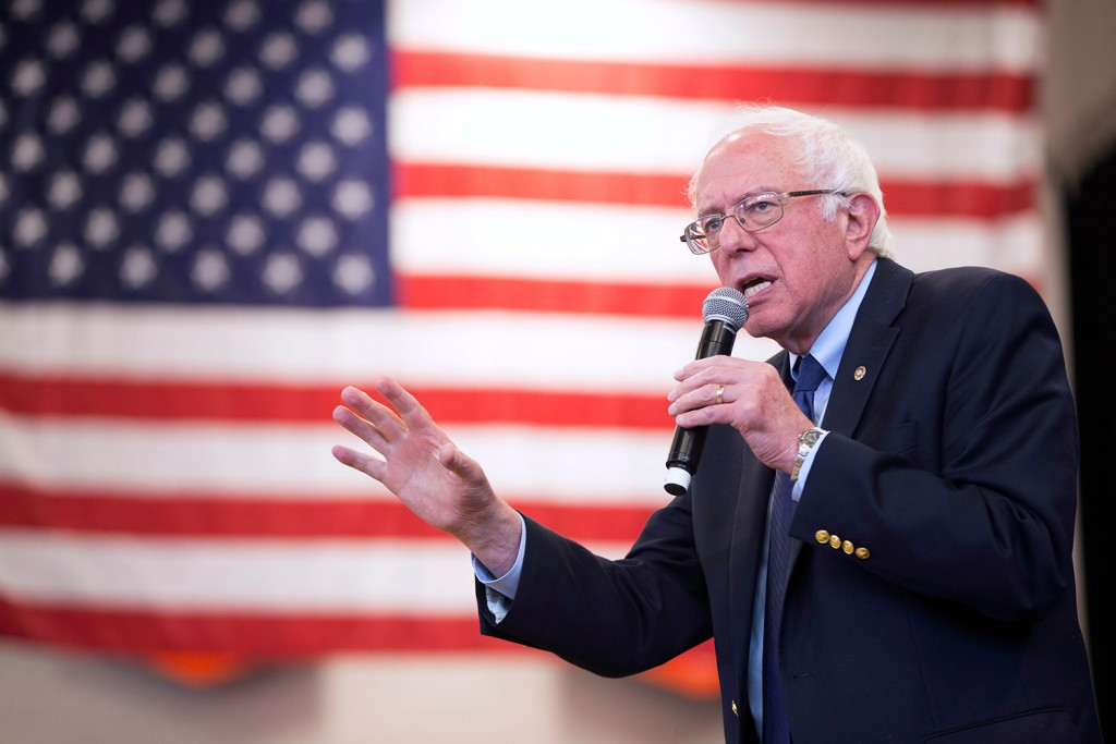Democratic presidential candidate Sen. Bernie Sanders, I-Vt., is the most popular candidate in terms of dollars donated by Mainers and the number of individual contributions.