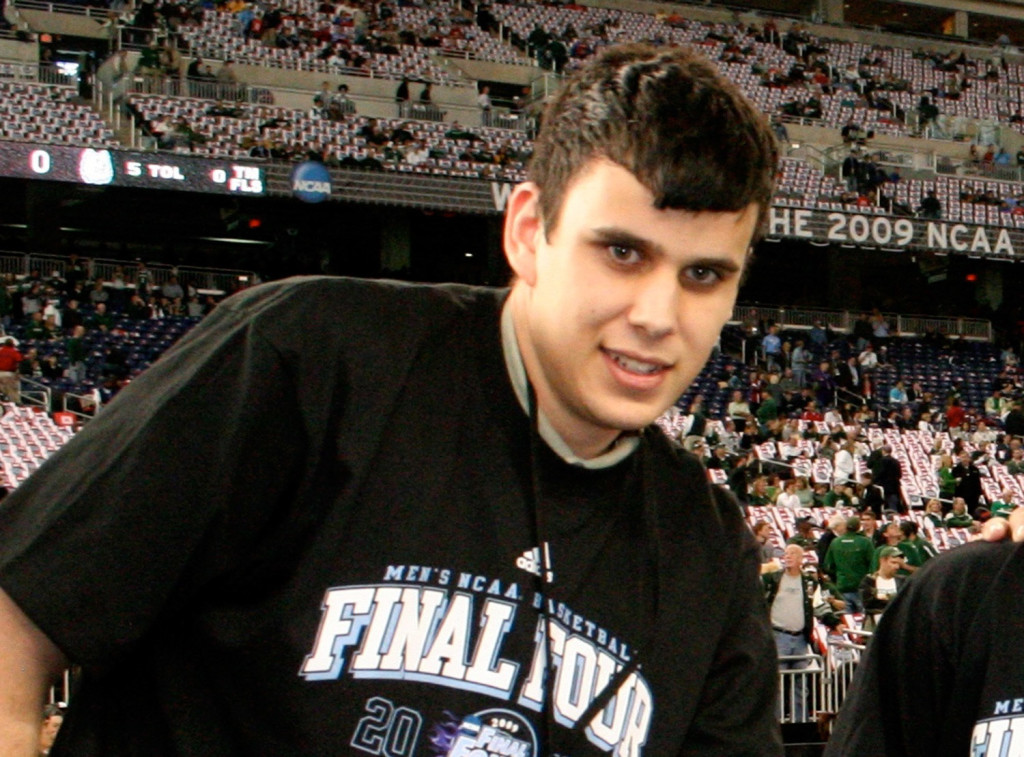 Josh Titus attended a 2009 men's NCAA Final Four game in Detroit.
