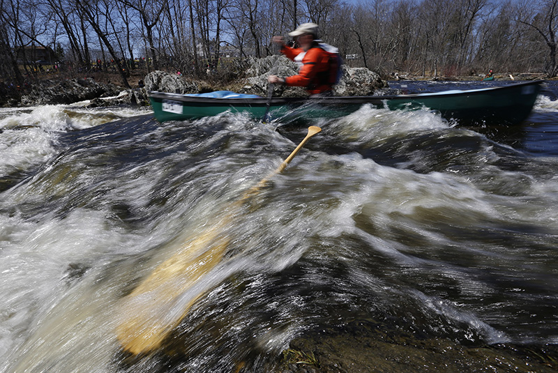 Central Maine Toyota >> Cold water a spring rite of passage for Kenduskeag Stream ...