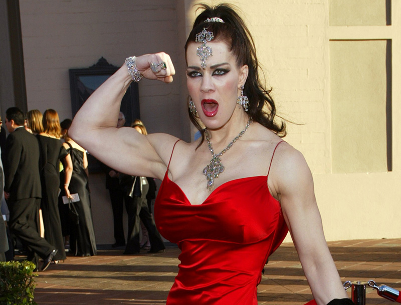 Joanie Laurer, former pro wrestler known as Chyna in 2003.