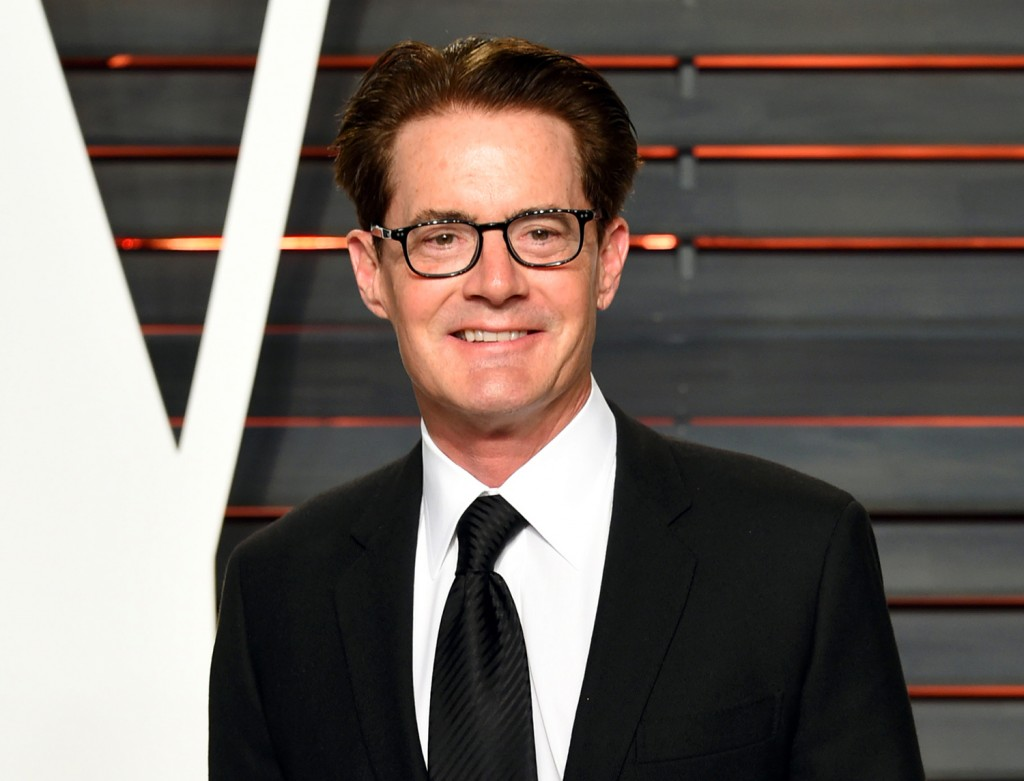 "FILE - In this Feb. 28, 2016 file photo, actor Kyle MacLachlan arrives at the Vanity Fair Oscar Party in Beverly Hills, Calif. Showtime announced the cast for the reboot of the offbeat series ""Twin Peaks,"" which will star original cast member MacLachlan. The Associated Press"