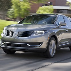The 2016 Lincoln MKX. (Lincoln)