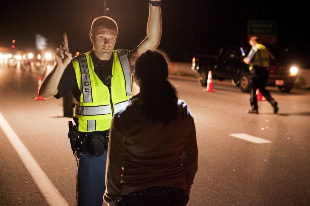 Police conduct field sobriety tests during a Cumberland County sobriety check. Police currently use a roadside drug recognition exam to detect impairment from drugs, but experts say more resources and better tools are needed to stop drugged driving.