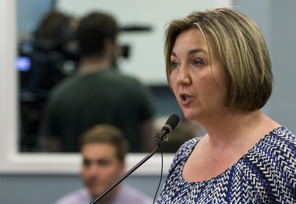Amanda Cooper filed a complaint with the Maine Department of Education last week asking it to investigate the SAD 6 superintendent. 2016 Press Herald file/Ben McCanna