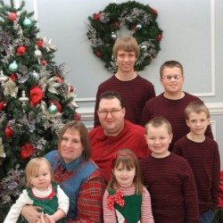 Toby and Jennifer Norsworthy, shown with their six children. The couple died within 48 hours of each other on April 22 and April 24, leaving six children. Toby Norsworthy grew up in Unity and graduated from Mount View High School in 1996.