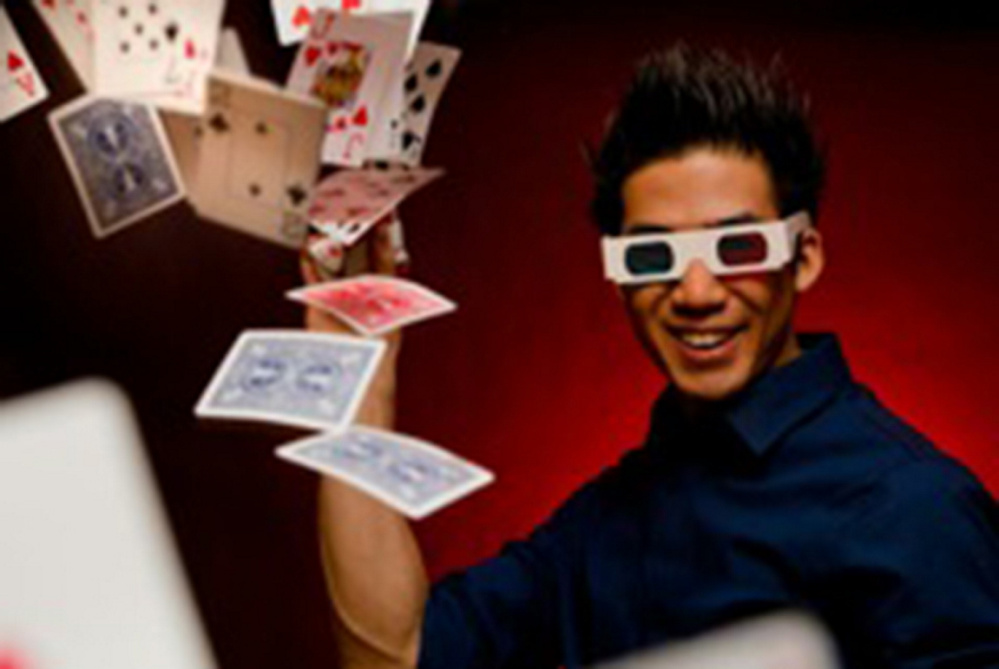 Magician Norman Ng will perform at 7:30 p.m. Saturday, May 14, at Johnson Hall in Gardiner.