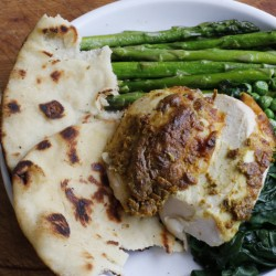 The Associated Press Tandoori roast chicken is made tender with a marinade of yogurt and lemon juice that is seasoned with earthy cumin, garam masala, ginger and garlic. The Associated Press Tandoori roast chicken is made tender with a marinade of yogurt and lemon juice that is seasoned with earthy cumin, garam masala, ginger and garlic.
