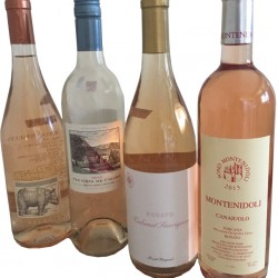 Several 2015-vintage rosés boast ripe fruit, creamy textures and a good acidity balance.