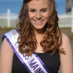 Morgan Peacock, of Canaan, was recently crowned Miss Maine Junior National Teenager.