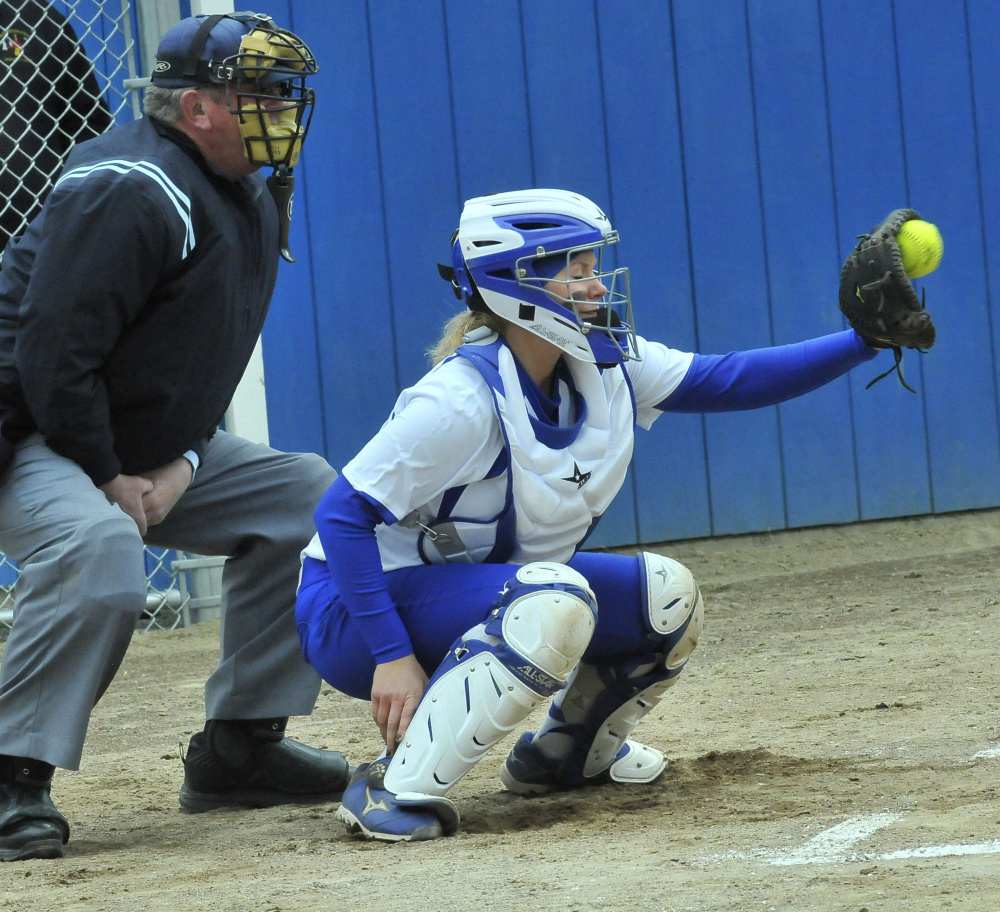 Madison catcher Aly LeBlanc will attend Division II Augusta University in Georgia this fall.