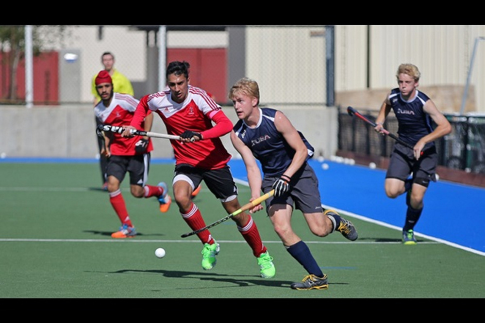 Nick Richardson, a Readfield native, is a member of the United States Junior National men's field hockey team that will compete in the Pan Amerian championships later this month in Toronto.
